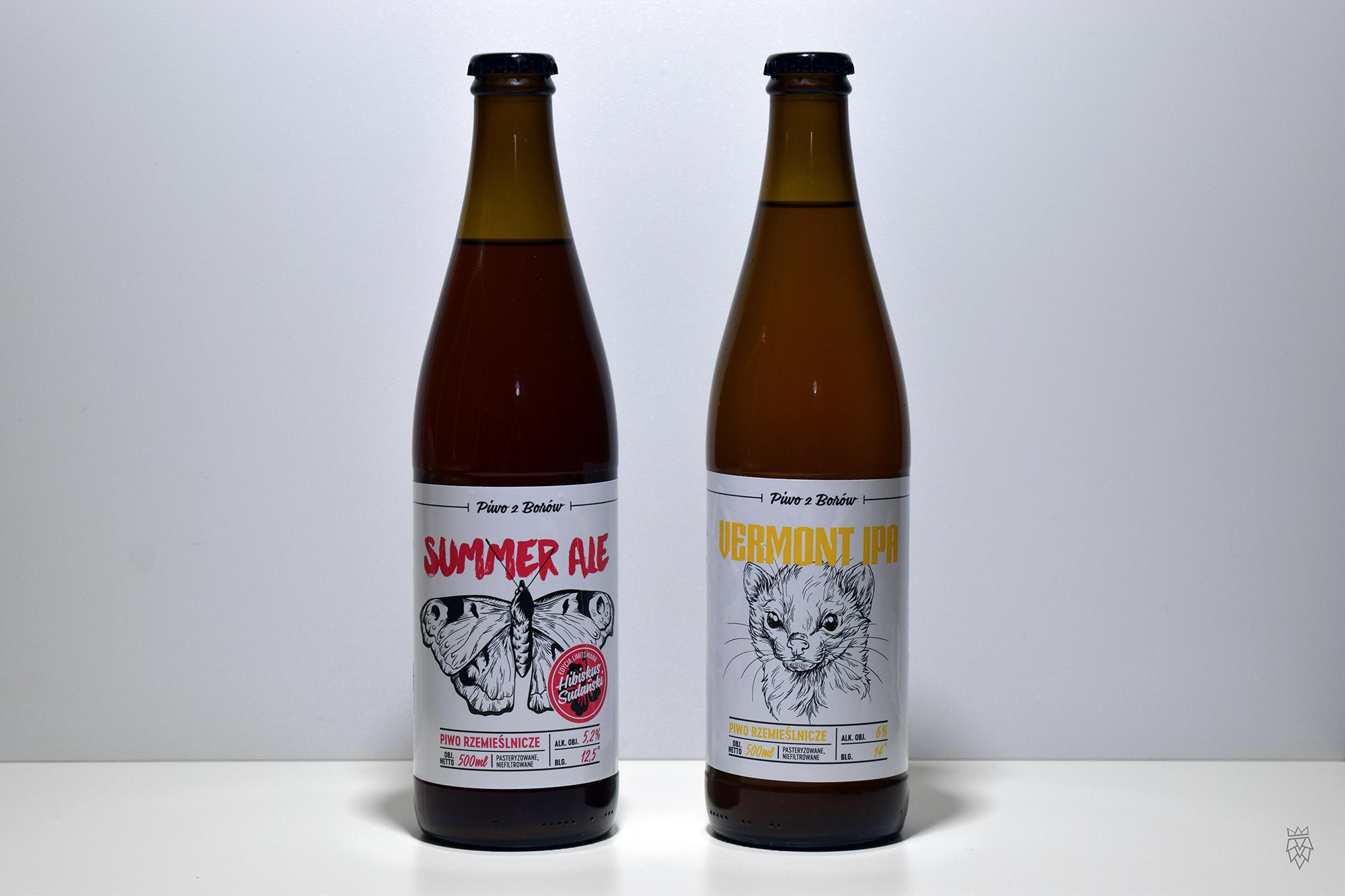 Przystanek Tleń Summer Ale i Vermont IPA