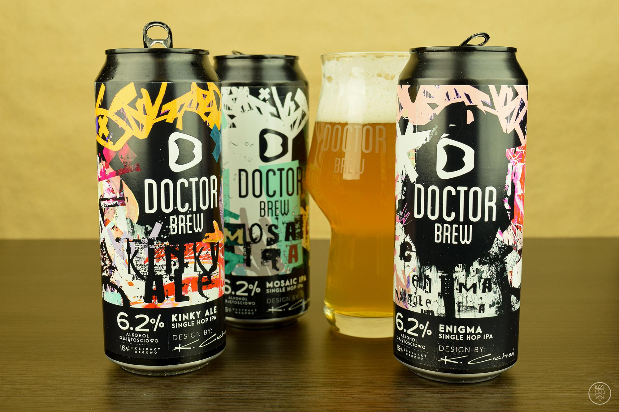 Doctor Brew, seria Legend
