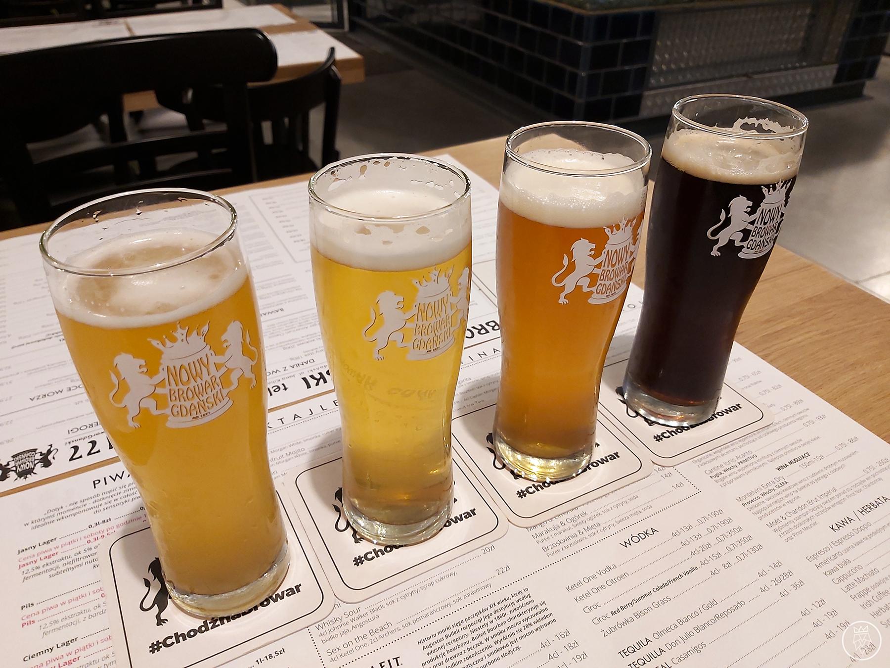 Nowy Browar Gdański - piwa